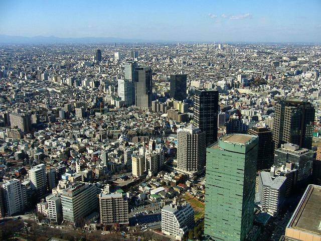 Tokio podzial