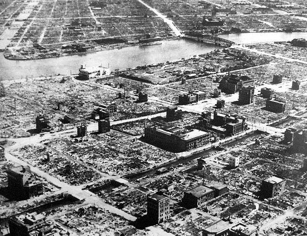 Tokio wojna naloty