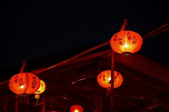 chinskie lampiony