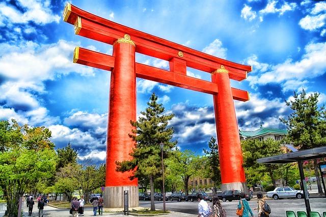 japonia brama wiza hdr