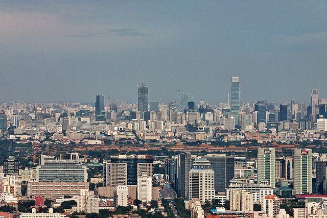 pekin centrum stolicy