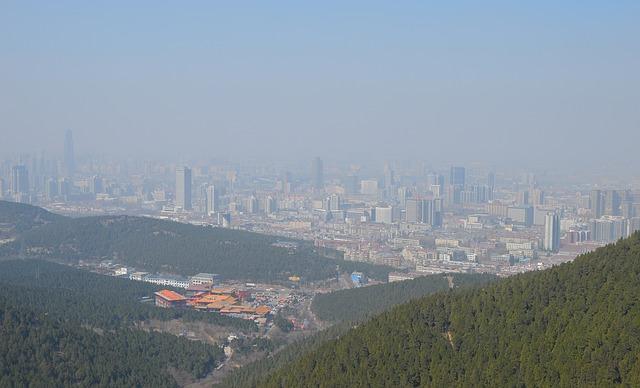 smog w chinach zanieczyszczenie